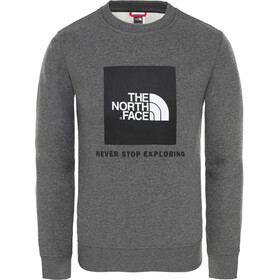 The North Face Box T-shirt à col ras-du-cou Garçon, tnf medium grey heather
